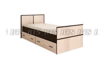 Кровать Сакура 0,9 м (арт.1172)