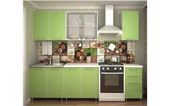 Кухня Радуга 2 м (арт.4234)